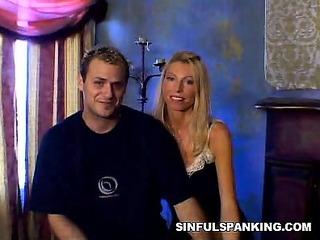 merciless spanking couple