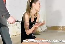 Punished female hands