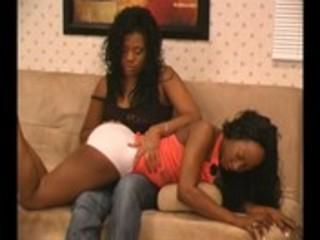 More black otk spanking