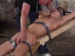 Old Fetish Dude Punishing A Bigcock Slave Boy