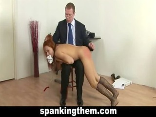 college girl gets her punishment