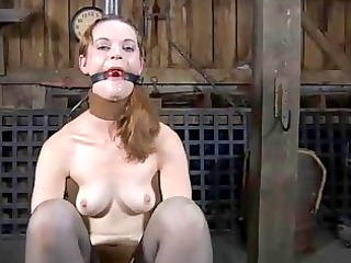 stormy caning for lusty chick