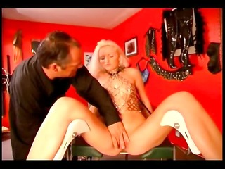 master humiliating two hot slave girls