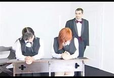 black velvet - very hard spanking