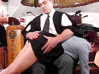 let the spanking begin
