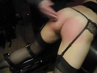 Wife getting a proper spanking