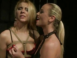 Cindy Hope getting bondaged and punished