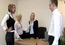 cfnm boss lady punishing with spanks