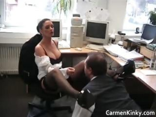 Sexy kinky carmen spanks and rides her part6