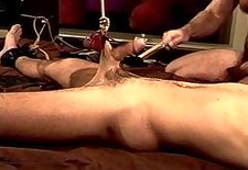 ball stretching, bashing,cock flogging.