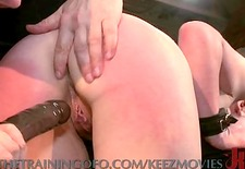 redhead learns the art of submission