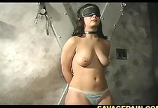 giselle gets her ass caned hard