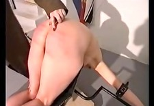 non-professional villein hard caning