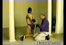 bdsm woman spanked hot
