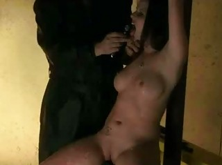 Nipple Clamped Spanked And Waxed