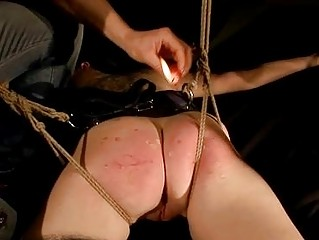 Beauty getting painfully punished