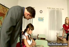 Cathy Cambell and Lendsay are naughty schoolgirls