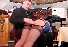Blonde Whore Gets A Spanking