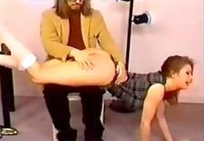 proper ass spanking