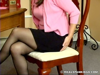 spanked over the knee by therapist