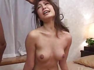 Asian japanese girl spanking