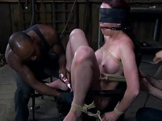 Hot whipping for beautys ass