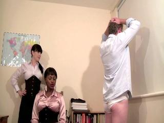mistress knows best - strict woman schoolteacher spanking